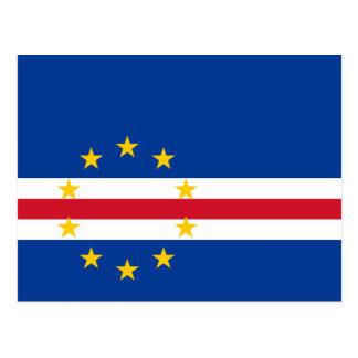Carte Postale Cv de drapeau du Cap Vert