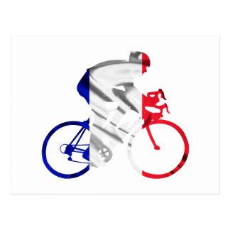 Carte Postale Cycliste de Tour de France