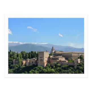Carte postale d Alhambra