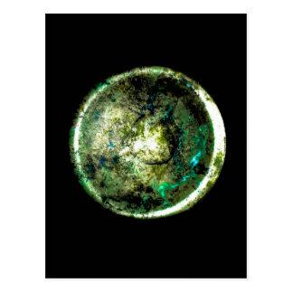 Carte postale d art de JTG de Alumino Luna