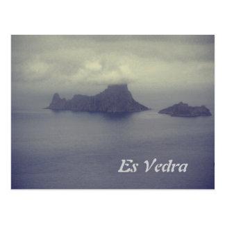 Carte postale d es Vedra Ibiza