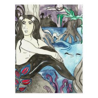 Carte postale d'Aaron de triton