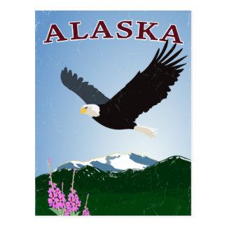 Carte postale d'aigle de l'Alaska