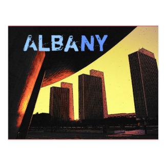 Carte postale d'Albany