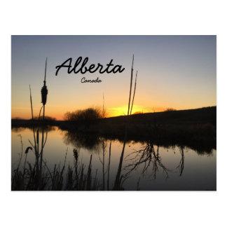 Carte postale d'Alberta Canada