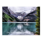 Carte postale d'Alberta de parc national de Lake