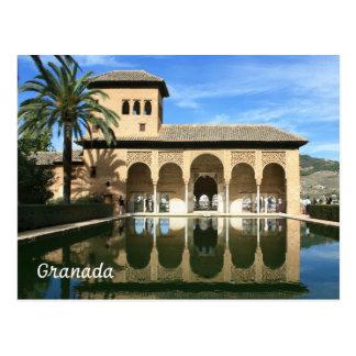 Carte postale d'Alhambra Grenade Espagne