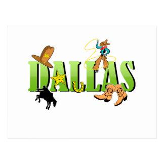 Carte Postale Dallas