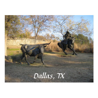 Carte Postale Dallas, TX