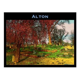Carte postale d'Alton (l'Illinois)