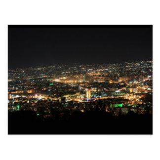 Carte Postale Damas la nuit - Syrie