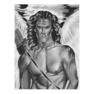 Carte postale d'amour d'ange d'eros