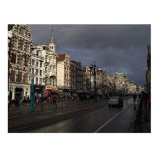 Carte Postale Damrak, Amsterdam