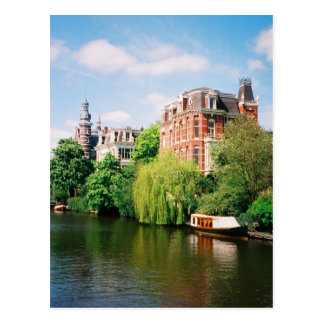Carte postale d'Amsterdam