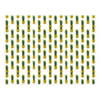 Carte postale d'ananas