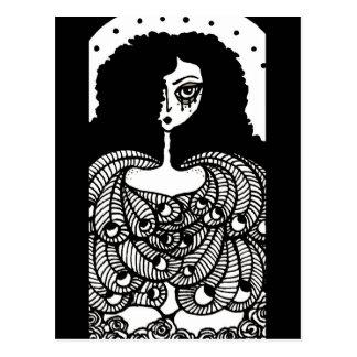 Carte postale d'ange d'art d'imaginaire