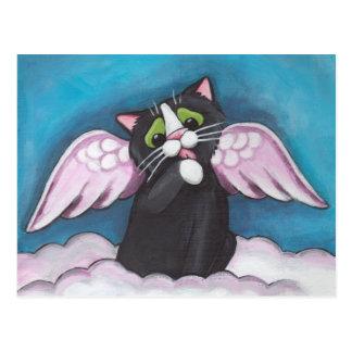 Carte postale d'ange gardien