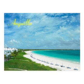 Carte postale d'Anguilla