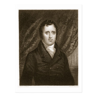 Carte Postale Daniel D. Tompkins (1774-1825) gravé par Thomas