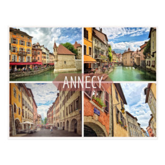 Carte postale d'Annecy