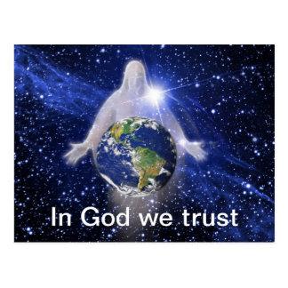 Carte Postale Dans Dieu nous faisons confiance