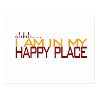 Carte Postale Dans mon endroit heureux