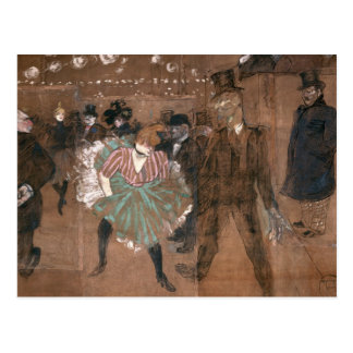 Carte Postale Danse au fard à joues