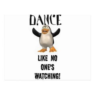 Carte Postale Danse… comme unique observation !