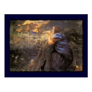 Carte Postale Danse crépusculaire de féeries