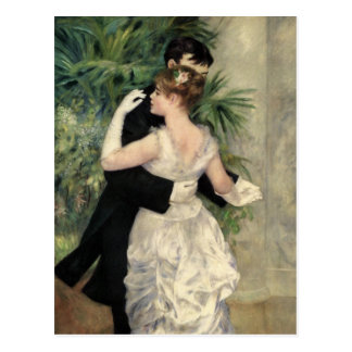 Carte Postale Danse de Renoir en beaux-arts de ville