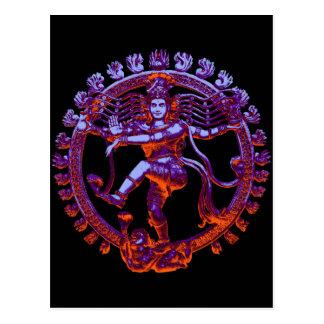 Carte Postale Danse de Shiva Nataraja