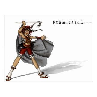 Carte Postale Danse de tambour