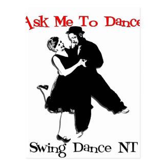 Carte Postale Danse NT d'oscillation