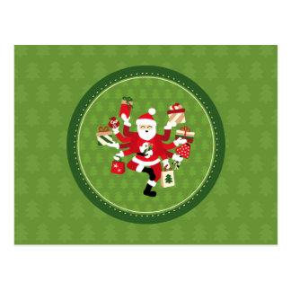 Carte Postale Danse Shiva Claus