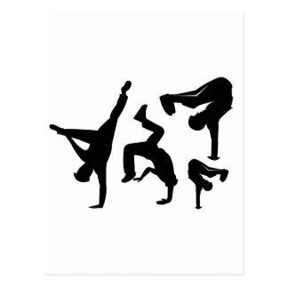 Carte Postale danseur de hip hop