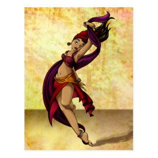Carte Postale Danseur de Rohesia