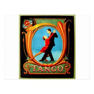 Carte Postale Danseur de tango