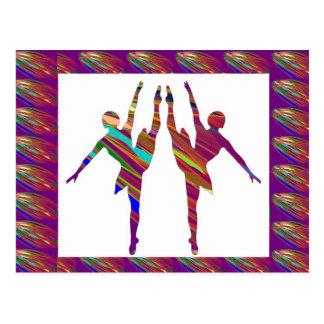 Carte Postale Danseurs classiques :  Formations très artistiques