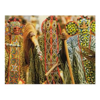 Carte Postale Danseurs de Banjouge, Cameroun