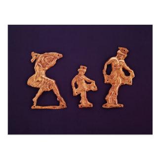 Carte Postale Danseurs de Demeter de déesse