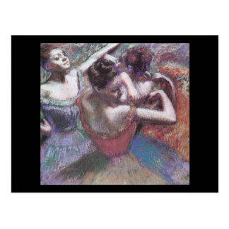 Carte Postale Danseurs d'Edgar Degas