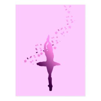 Carte Postale Danseuse de ballerine