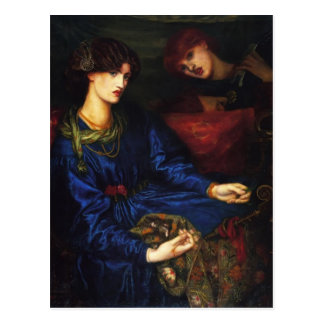 Carte Postale Dante Gabriel Rossetti- Marianne