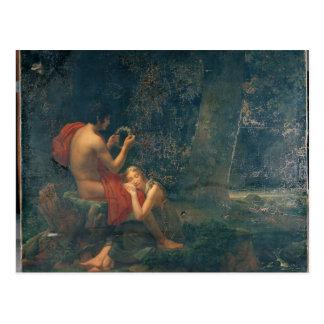 Carte Postale Daphnis et Chloe, 1824-25
