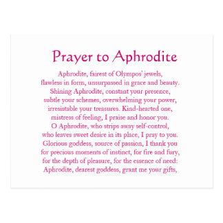 Carte postale d'Aphrodite