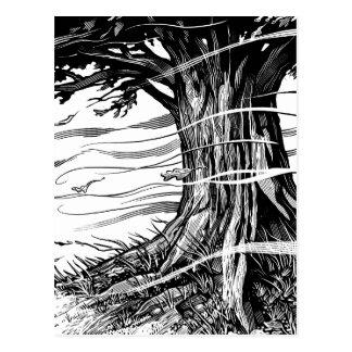 Carte postale d'arbre
