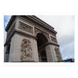 Carte postale d'Arc de Triomphe