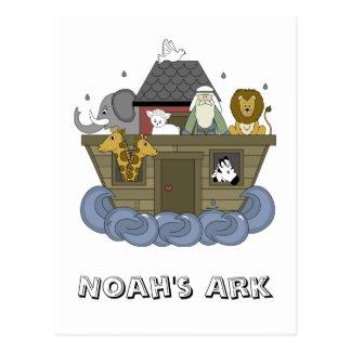 Carte postale d'arche de Noahs