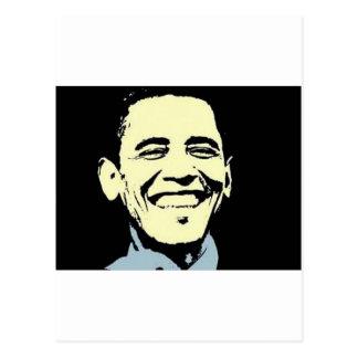 Carte postale d'art de Barack Obama