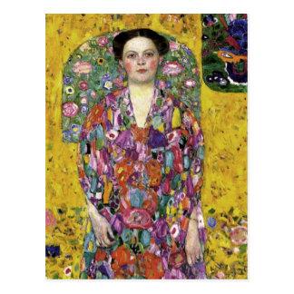 Carte postale d'art de Gustav Klimt